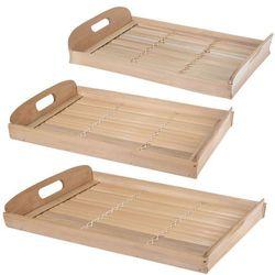 Ozdobne tace z włókna bambusowego, taca śniadaniowa, taca dekoracyjna, tace kuchenne, naczynia bambusowe, a