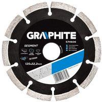 Graphite Tarcza do cięcia  57h610 230 x 22.2 mm diamentowa + darmowy transport!