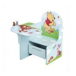 Biurko, stolik i pojemnik na zabawki 3w1, KUBUŚ PUCHATEK i PRZYJACIELE, towar z kategorii: Biurka