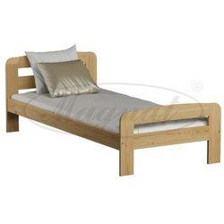 Magnat - producent mebli drewnianych i materacy Łóżko sosnowe klaudia 90x200, kategoria: łóżka