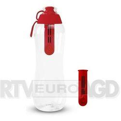 butelka filtrująca 0,7l z 2 filtrami (makowy) marki Dafi