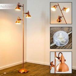 Reality GINA lampa stojąca Miedź, 3-punktowe - Nowoczesny - Obszar wewnętrzny - GINA - Czas dostawy: od 2-4 dni roboczych (4017807284997)