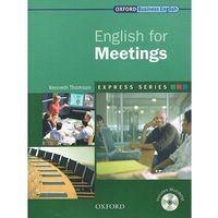 Express Work Skills English For Meetings. Książka Ucznia Plus MultiROM, oprawa miękka