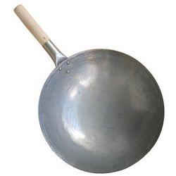 """Wok ze stali węglowej ręcznie kuty 35,5cm 14"""" marki Orientcook"""