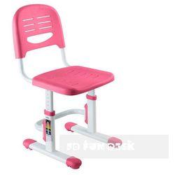 Krzesełko dziecięce z regulacją wysokości Fun Desk SST3 PINK, FunDesk