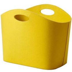 Cinas Kosz filcowy - gazetnik  yellow