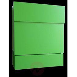 Obszerna skrzynka na listy LETTERMAN V, zielona