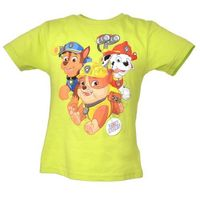Licencja - inne T-shirt z wizerunkiem bohaterów bajki psi patrol - zielony ||kolorowy