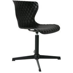 Orange Line Krzesło obrotowe CROW czarne 1100265 1100265, kolor czarny