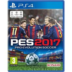 Pro Evolution Soccer 2017, gra na konsolę PlayStation4