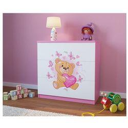 Kocot-meble Komoda dziecięca babydreams miś z motylkami kolory negocjuj cenę