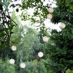 Best season Lampa solarna led festival, łańcuch świetlny (7391482035233)