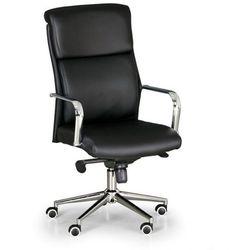 B2b partner Krzesło biurowe viro, skóra, czarny