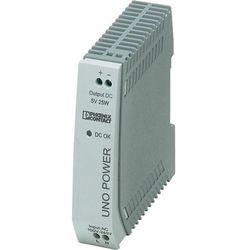 Zasilacz na szynę DIN Phoenix Contact UNO-PS/1AC/5DC/25 W 5 V/DC 5 A 25 W 1 x (transformator elektryczny)