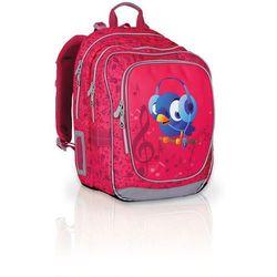 Topgal Plecak szkolny  chi 739 h - pink, kategoria: tornistry i plecaki