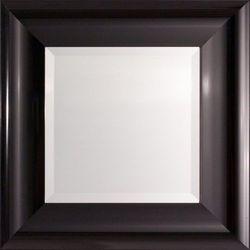 lustro 46x46cm new york black, 46 × 46 cm marki Dekoria