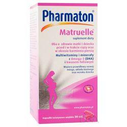 Pharmaton matruelle x 30 kaps - kapsułki witaminy ciążowe