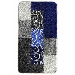 Bonprix Dywaniki łazienkowe z miękkim tuftowanym runem niebiesko-szary