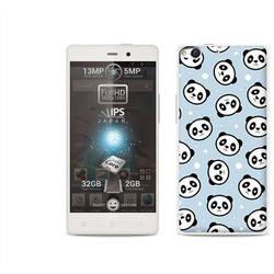 Fantastic Case - Allview X1 Soul - etui na telefon Fantastic Case - panda na niebieskim tle - produkt z katego