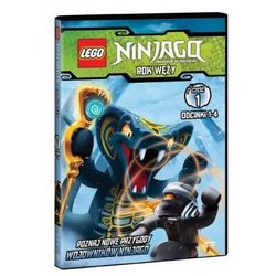 LEGO NINJAGO. ROK WĘŻY, CZĘŚĆ 1 GALAPAGOS Films 7321997610014, kup u jednego z partnerów