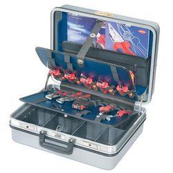 Walizka narzędziowa  00 21 30, 23 elementy, kolor: srebrny marki Knipex