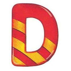 drewniana literka d od producenta Selecta