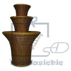 Garthen Fontanna ogrodowa domowa dekoracyjna przypominająca koszyki (4025327945298)
