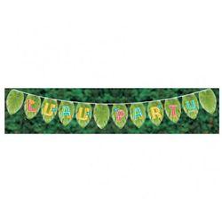 Hawajski baner Liście palmowe - 120 x 15 cm - 1 szt. - produkt z kategorii- Gadżety