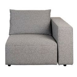 Zuiver outdoor sofa breeze prawy elelement, szary 3500006