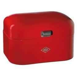 grandy chlebak pojemnik na pieczywo czerwony wyprodukowany przez Wesco