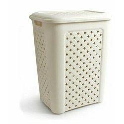 Tontarelli kosz na brudną bieliznę arianna - 50,7 litra, biały