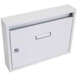 Skrzynka pocztowa 325x240x60mm szara prefabrykatów bez otworów