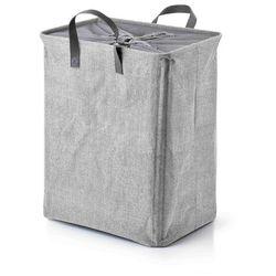 Sofa.pl Kado grey kosz na pranie 44x32xh53cm