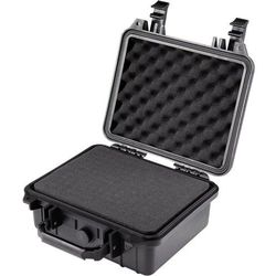 Walizka narzędziowa, wodoszczelna Basetech 1310217, (DxSxW) 270 x 250 x 125 mm, Kolor: czarny (4016138960075)