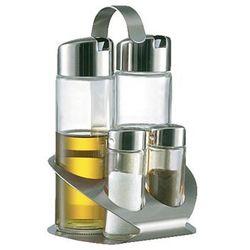 Zestaw dozowników na olej, oliwę sól oraz pieprz przyprawnik STOHA 55313