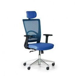 B2b partner Krzesło biurowe avea, niebieski