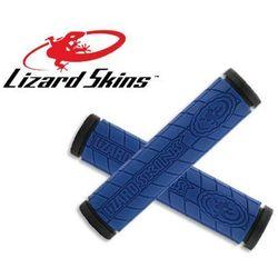 LZS-DDMDS400 Chwyty kierownicy LIZARDSKINS LOGO DC 30,5x130 mm, niebieskie (róg rowerowy)