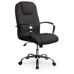 Fotel gabinetowy, obrotowy nelson - czarny marki Halmar