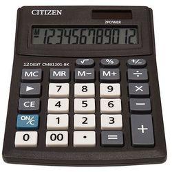 Kalkulator biurowy cmb1201-bk business line, 12-cyfrowy, 137x102mm, czarny marki Citizen