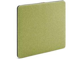 Ścienny panel dźwiękochłonny Zip 800x650 mm zielony czarny suwak, 129554