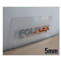 Druk UV Na PLEXI Bezbarwnej 5mm Z Materiałem
