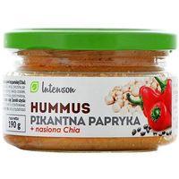 Hummus pikantna papryka z nasionami Chia Intenson 190 g