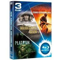 Pakiet: Pluton / Najdłuższy dzień / Cienka czerwona linia (Blu-ray) -