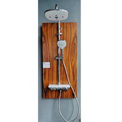 Swissliniger Bateria natryskowa lv525 szklany panel wylewka
