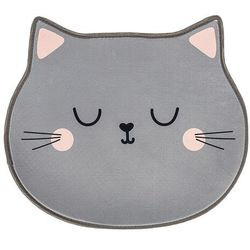 Dywan dziecięcy Kot szary, 60 x 52 cm