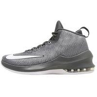 Nike Performance AIR MAX INFURIATE MID Obuwie do koszykówki dark grey/white/wolf grey