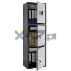 Sejf elektroniczny/kluczowy na segregatory SL 150/3T EL