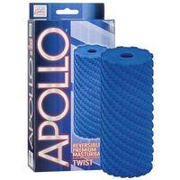 Apollo Masturbator twist blue | 100% dyskrecji | bezpieczne zakupy