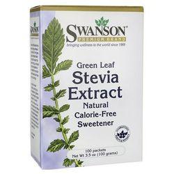 Swanson Stevia Extract 100 saszetek po 1g z kategorii Preparaty na poziom cukru