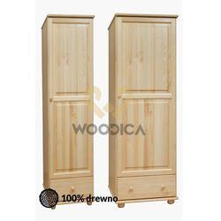 Woodica 02.szafa 1d1s 45x190x60